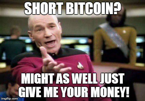 shorting bitcoin